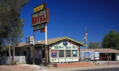 Aztec Motel & Gift Shop in Seligman goes up for sale