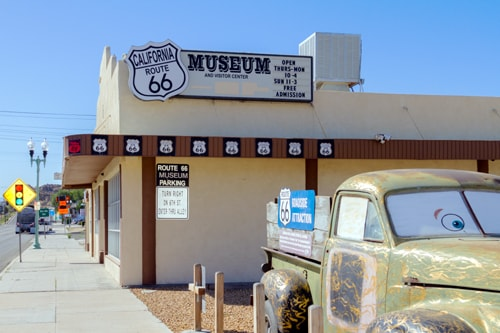 California Route 66 Museum Enters Into Partnership With Local