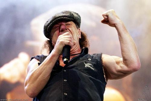 Former AC/DC singer gets his kicks