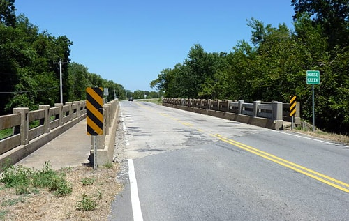 Road crews destroy Horse Creek Bridge in Afton despite local opposition