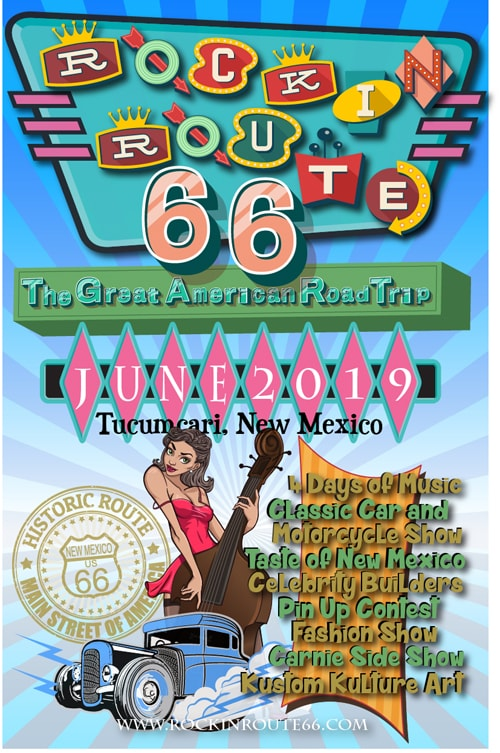Rockin' Route 66 replaces Rockabilly on the Route festival in Tucumcari