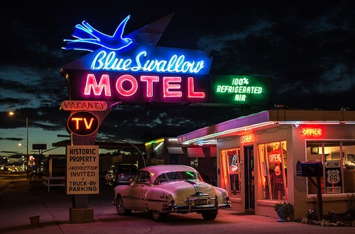 Blue Swallow Motel of Tucumcari put up for sale