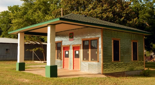 An update on the Texaco gas station in Foyil