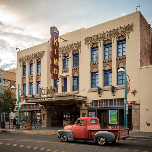 Rioters damage KiMo Theatre in Albuquerque