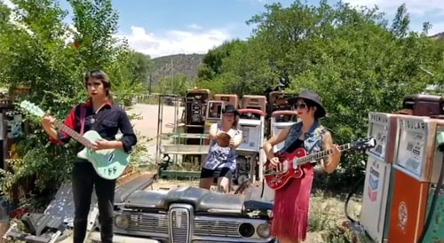 Sheverb's new video shot partly on Route 66