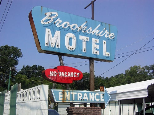 Brookshire Motel in Tulsa catches fire again