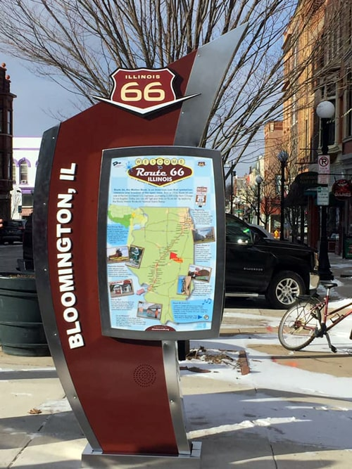 Route 66 Experience Hub unveiled in downtown Bloomington