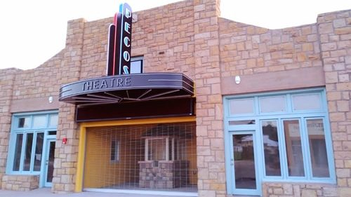 Pecos Theatre plans grand reopening Sept. 7-8