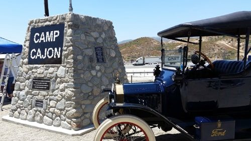 Re-creation of monument marks Camp Cajon's 100th anniversary
