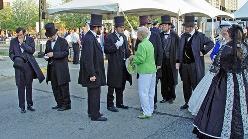 Railsplitting Festival in Lincoln will try to break world record of Abe lookalikes