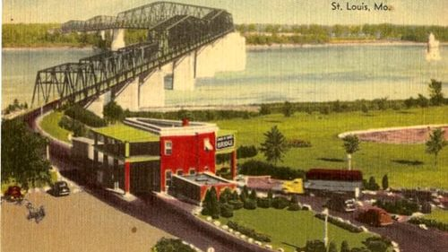 Replica of toll building proposed for Old Chain of Rocks Bridge in St. Louis