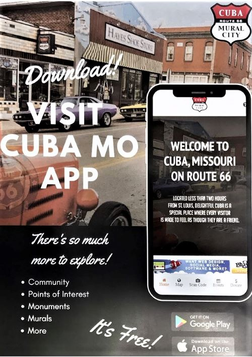 Cuba, Missouri, launches a new tourism app