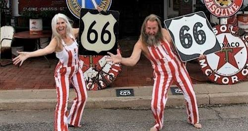 How about Harley and Annabelle Russell for the Oklahoma Route 66 Hall of Fame?