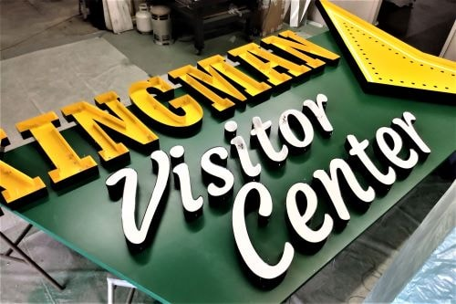 Kingman Visitors Center will have lighting ceremony for its new sign on May 20