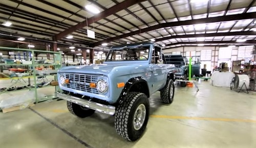 Factory that rebuilds vintage Ford Broncos is located in Route 66 town of Hamel
