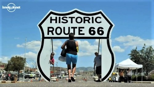 Lonely Planet features a Route 66 trip through Arizona and New Mexico