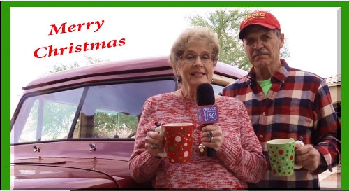 Frank and Lynne's 2020 video Christmas card