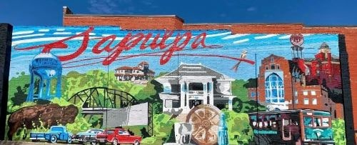 New mural in Sapulpa shows several Route 66 sites