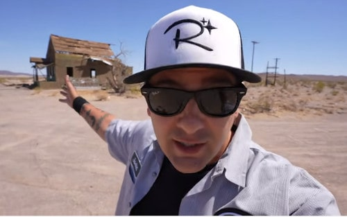 Justin Scarred returns to Route 66 in his latest video adventure