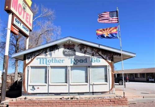 Aztec Motel in Seligman likely to reopen as Airbnb, arts center by mid-August