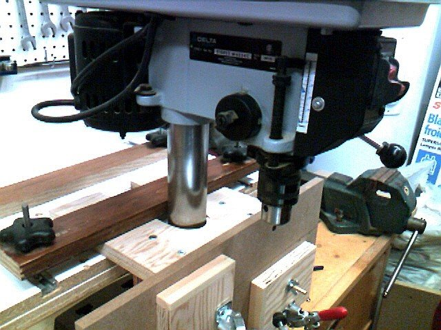 Convert Your Bench Drill Press To Router Forums