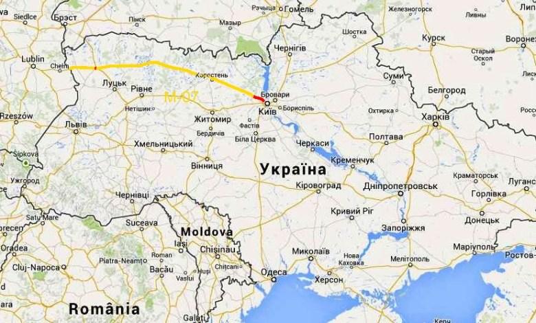 Киев - Ковель - Ягодин М-07