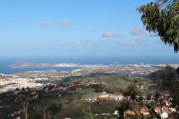 View of Las Palmas