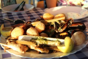 Mussels in Puerto de las Nieves