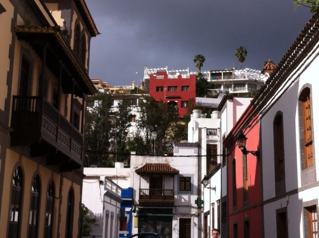 Street view of Teror, Gran Canaria