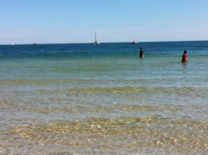 Clear waters of South Melbourne Beach