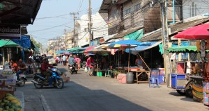 Street view of Ban Phe