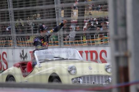 The Drivers Parade, Grand Prix