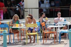 A café on Bondi Beach, Sydney