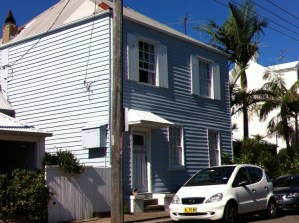 A house at Watsons Bay, Sydney