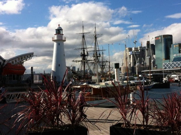 Sydney walking itinerary: Darling Harbour