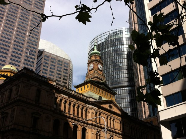 Sydney walking itinerary: Central Business District