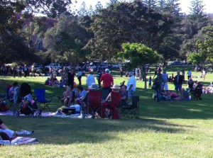 Easter picnic in Watsons Bay
