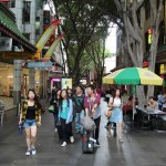Walking in Chinatown, Sydney