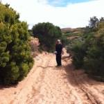 Walking on Phillip Island