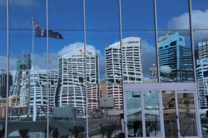 Window reflection in Darling Harbour, Sydney