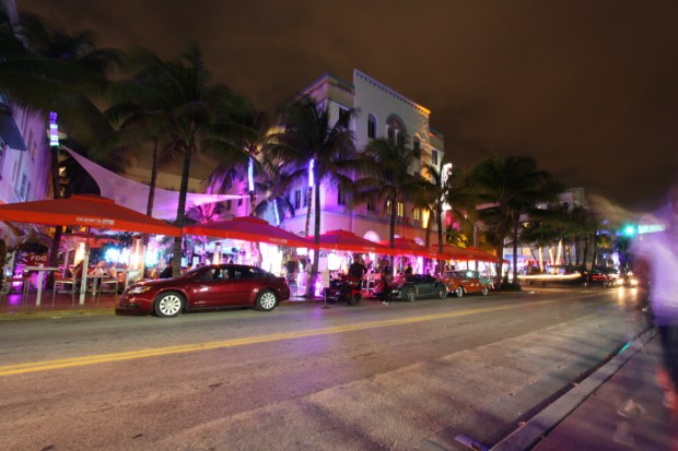 South Beach district of Miami