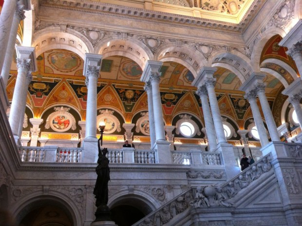 Library of Congress, Capitol Hill walk