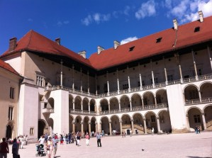 The Royal Castle, Wawel Hill, Krakow
