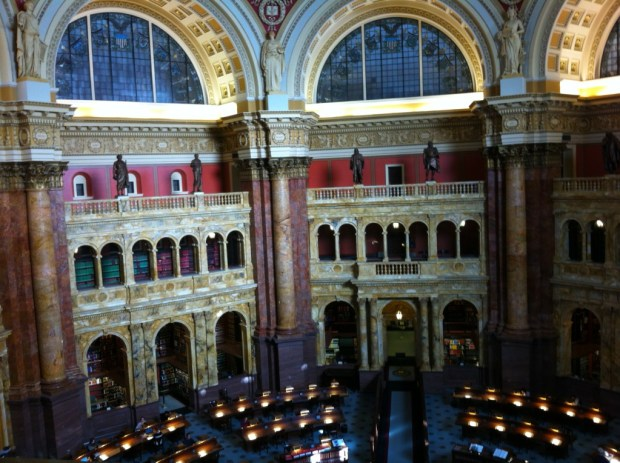 The U.S. Capitol Library, Capitol Hill