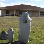 A mailbox, Miccosukee Village, the Everglades