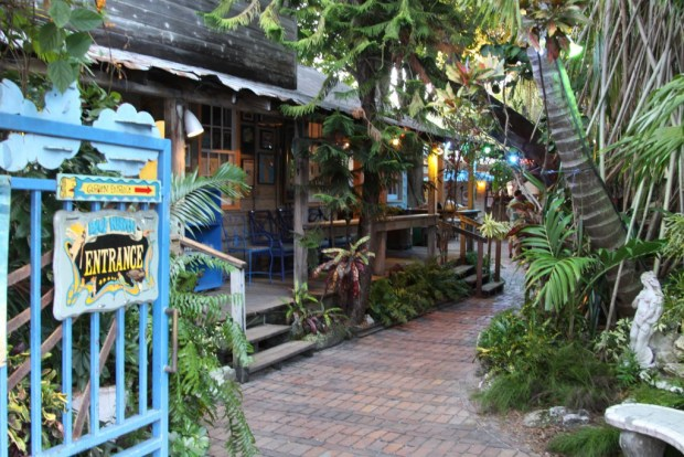 A cafe in Key West, Florida