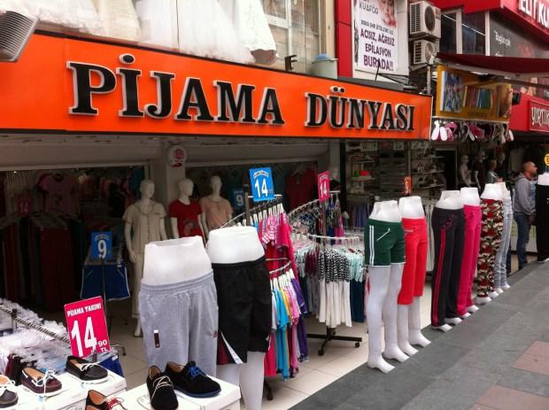A local cloth shop