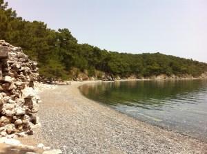 Phaselis Beach, Turkey