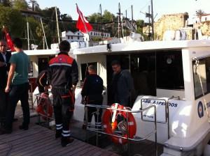 Sea Bus to Antalya