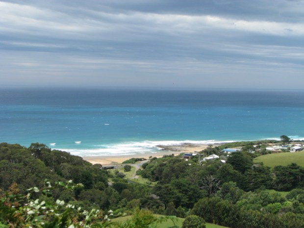 The Great Ocean Road by car, Australia